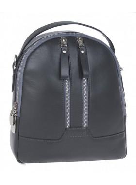 Рюкзак женский из натуральной кожи Franchesco Mariscotti 1-4552к-лд012 смок