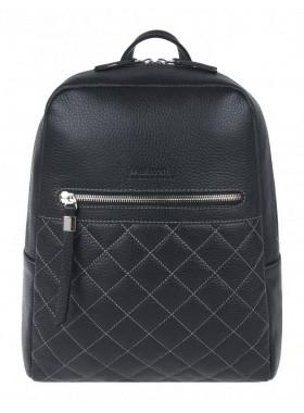 Рюкзак женский из кожи Franchesco Mariscotti 1-4424к фр черный