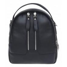 Рюкзак женский из натуральной кожи Franchesco Mariscotti 1-4552к-лд100 чёрный