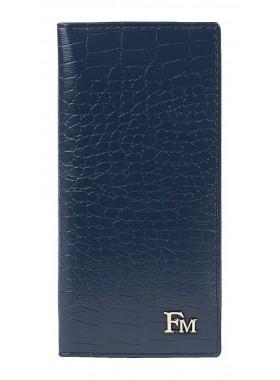 Футляр для кредитных карт Franchesco Mariscotti 0-294FM кайман океан