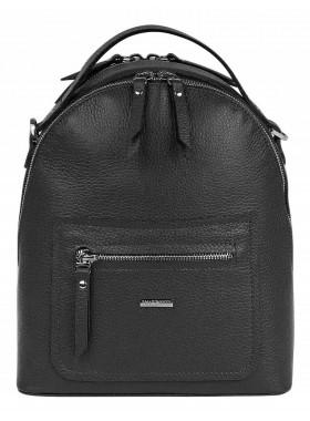 Рюкзак-сумка женский Franchesco Mariscotti 1-4275к-100 чёрный