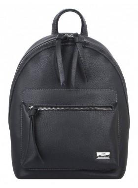 Рюкзак женский из кожи Franchesco Mariscotti 1-4377к-мч100 черный