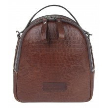 Рюкзак женский Franchesco Mariscotti 1-4550к-031нв игуана корич