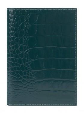 Обложка для паспорта Alliance 0-266 кайман зелёный