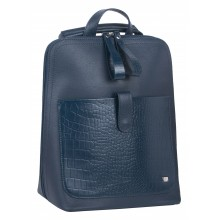 Рюкзак-сумка женский Franchesco Mariscotti 1-4317к-708 кайман океан