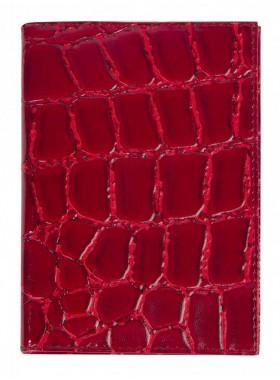 Обложка для паспорта Альянс 0-265 скат3 красн