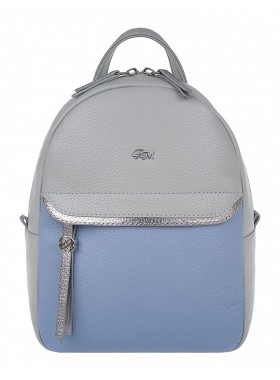 Рюкзак женский Franchesco Mariscotti 1-4609к фр туман-лазурь-серебро