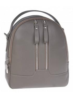 Рюкзак женский из натуральной кожи Franchesco Mariscotti 1-4552к-лд007 капучино
