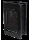 Бумажник водителя мужской ОВ-4-A дымчато-черный Apache