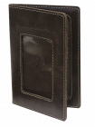 Бумажник водителя ОВ-4-A дымчато-коричневый Apache