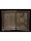 Обложка для автодокументов кожа ОВ-3-A дымчато-коричневый Apache