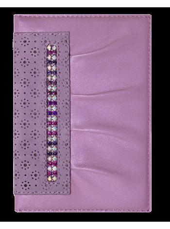 Бумажник водителя БС-11 украшен кристаллами SWAROVSKI Kniksen