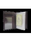 Женский бумажник водителя  БС-12 темно-фиолетового цвета Kniksen