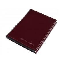 Портмоне для автодокументов с отделением для купюр и карт кожаный БИ-1 красный Person