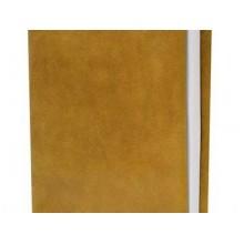 Ежедневник суперобложка из кожи табачно- желтый А6 Apache