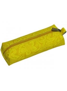 Ключница женская на молнии КМ-2-Ф аляска желтая