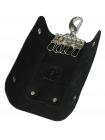 Ключница для ключей кожаная КБ-А черный Apache