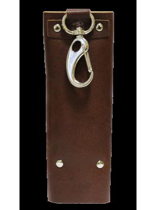 Футляр для ключей КБ-А коричневый Apache