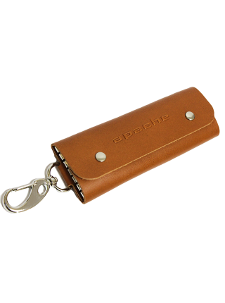 Футляр для ключей КБ-А рыжий Apache