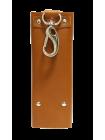 Ключница для ключей кожаная КБ-А рыжий Apache