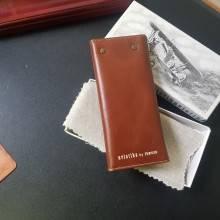 Ключница мужская кожаная А-КБ пулл-ап рыжий Авиатика