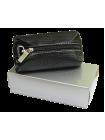 Футляр для ключей кожаный КМ-1 белладонна черная Person