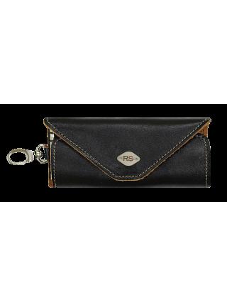 Футляр для ключей из кожи КБО-RS черного цвета RS