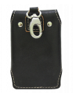 Футляр для ключей из натуральной кожи KMO-RS черный