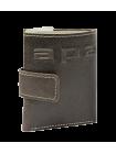 Купюрник кожаный мужской МП-А дымчато-коричневый Apache