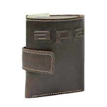 Купюрник кожаный МП-А дымчато-коричневый Apache