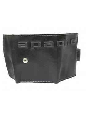 Купюрник кожаный МП-А дымчато-черный Apache