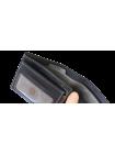 Портмоне из кожи МК-2-L черного и серого цвета limited Apache