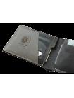 Портмоне мужское МК-L limited из кожи черного и серого цвета Apache
