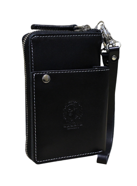 Портмоне клатч мужской МК-S-9 черное Apache RFID