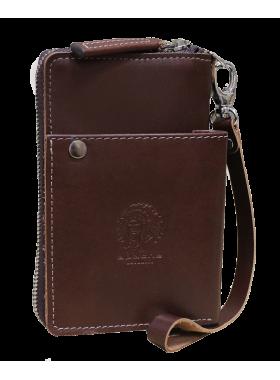 Портмоне клатч мужской МК-S-9 коричневое Apache RFID