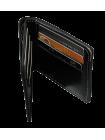 Портмоне из натуральной кожи МК-S черное Apache с защитой RFID