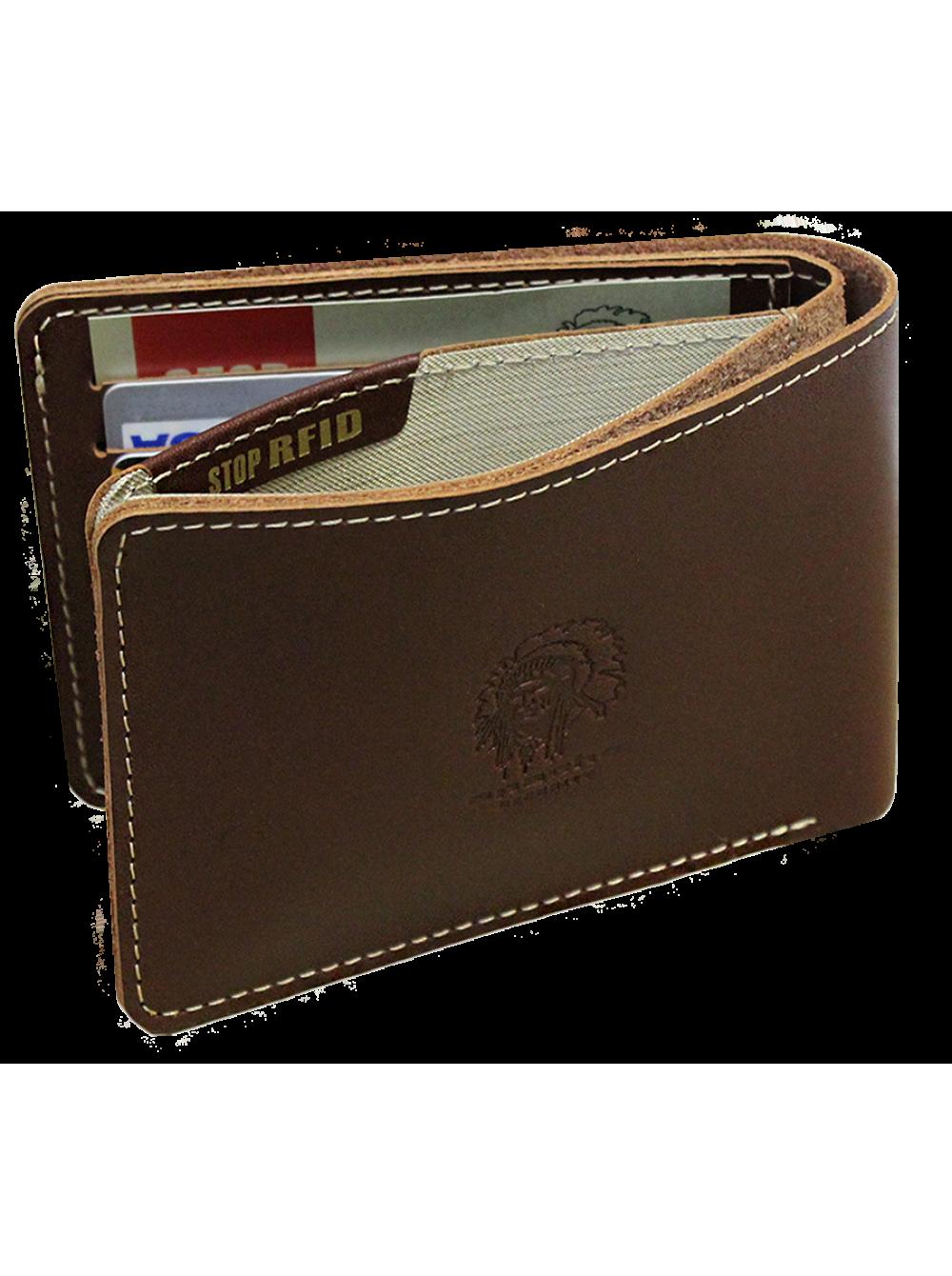 53d97b263068 Мужское кожаное портмоне для документов МК-S Apache RFID купить СПб ...