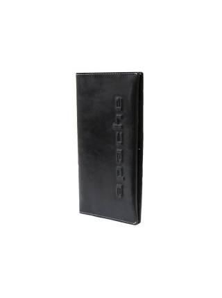 Портмоне для документов на скрытых магнитах Вояж-2-A дымчато-черное Apache