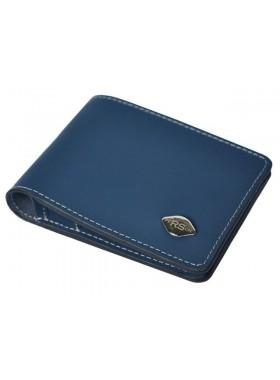 Портмоне натуральная кожа КО-3-RS Blue RS синий