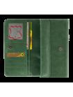 Кошелек женский С-ВП-2 друид зеленый Флауэрс