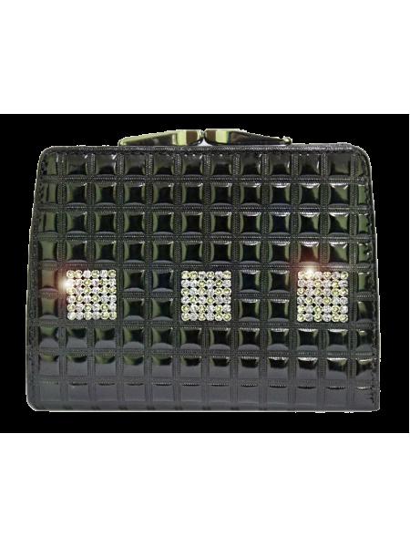 Кошелек Сварвоски стразы РК-1 black ice Kniksen