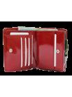 Кошелек женский кожаный лаковый РК-1 escala red Kniksen