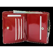 Кошелек женский кожаный РК-1 escala red Kniksen