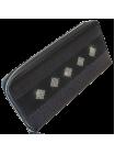 Кошелек женский с кристаллами Сваровски ВП-1 black stone Kniksen