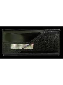Женский кошелек кожаный ВП-14 escala black Kniksen