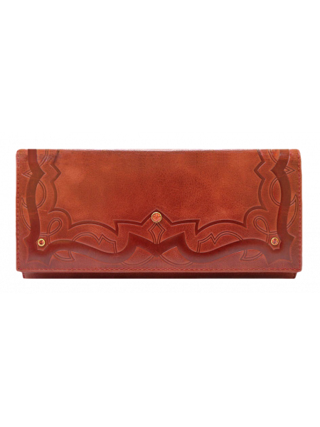 Кошелек женский ВП-7 коралл красный Kniksen