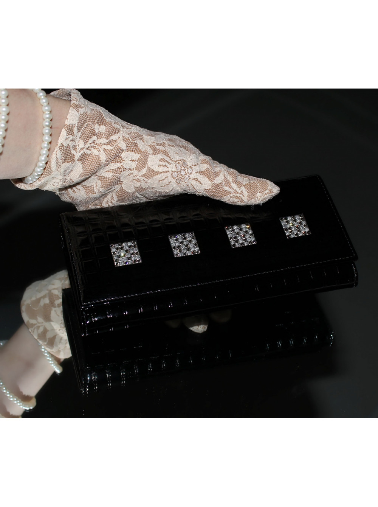 117052b0f792 Женский кожаный кошелек ВП-14 black ice Kniksen, купить