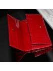 Кошелек женский со стразами Сваровски ВП-14 red mesh Kniksen