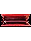 Кошелек натуральная кожа со стразами Сваровски ВП-17 red mesh Kniksen