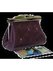 Кошелек на рамке тюльпан  Мэри фиолетовый Kniksen